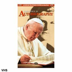 Picture of John Paul II - The Autobiography - VHS