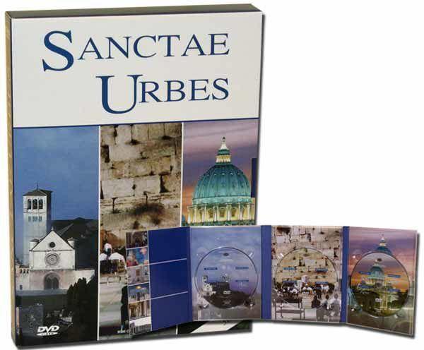 Immagine di Le Città Sante: Gerusalemme, Roma, Assisi - 3 DVD