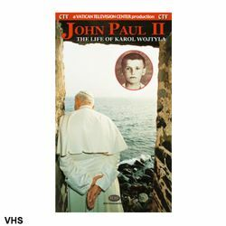 Picture of John Paul II The Life of Karol Wojtyla - VHS