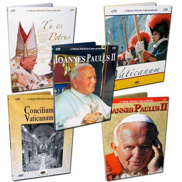 Picture of BEST SELLER PACK N.4 - Popes & Vatican - 5 Items