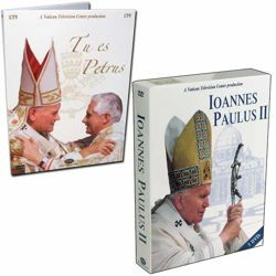 Immagine di John Paul II - The Pope who made history - 5 DVDs + Benedict XVI The Keys of the Kingdom - 6 DVD