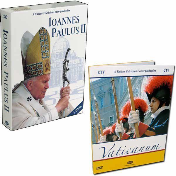 Immagine di Jan Paweł II - Papież, który tworzył historię (5 DVD) + Watykan