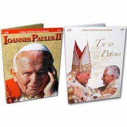 Imagen de Jean-Paul II - Sa vie, Son Pontificat + Benoît XVI Les Clefs du Royaume - 2 DVD