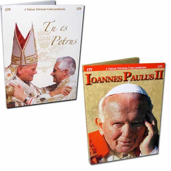 Imagen de Bento XVI As Chaves do Reino + João Paulo II A vida, o - 2 DVD