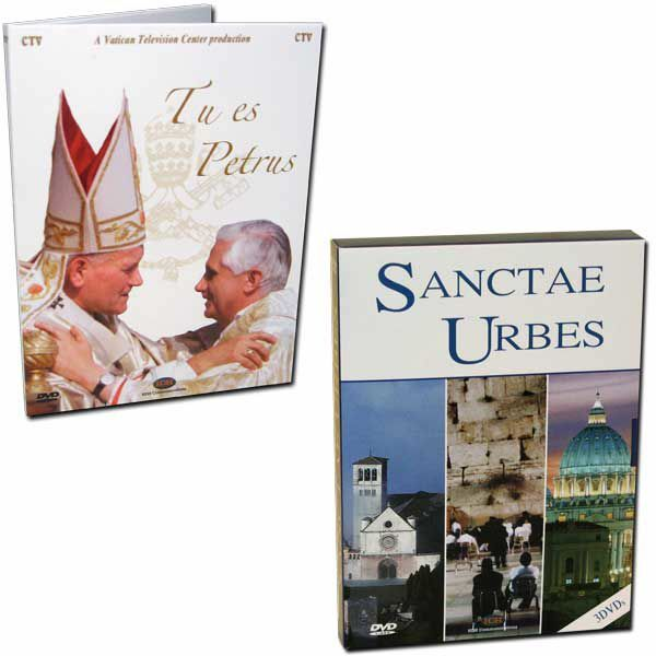 Immagine di Le Città Sante + Benedetto XVI Le chiavi del Regno - 4 DVD