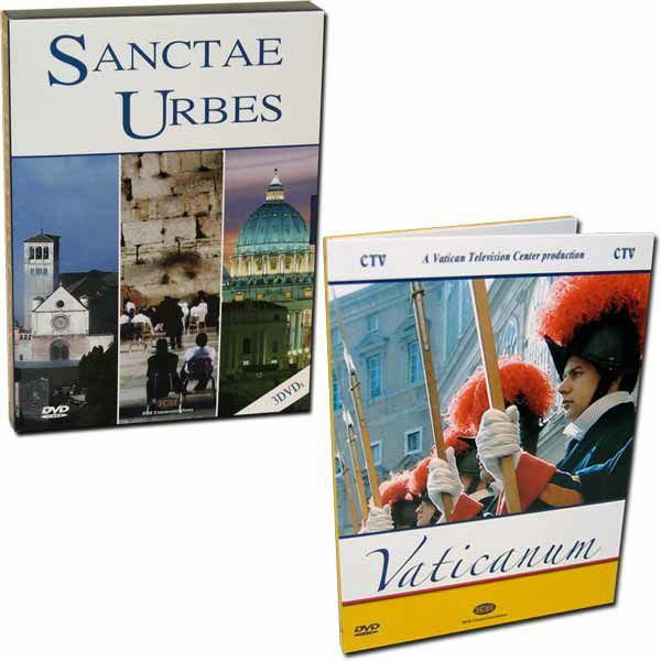 Imagen de Le Città Sante + Il Vaticano - 4 DVD