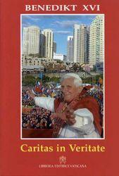 Immagine di Caritas in Veritate Enzyklika über die Ganzheitliche entwicklung des menschen in der Liebe und in der Wahrheit