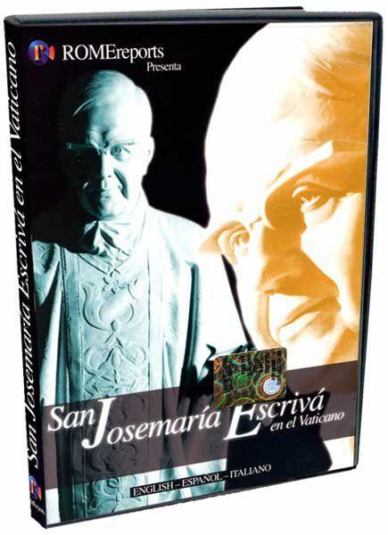 Picture of Saint Josemaria Escriva in the Vatican - DVD