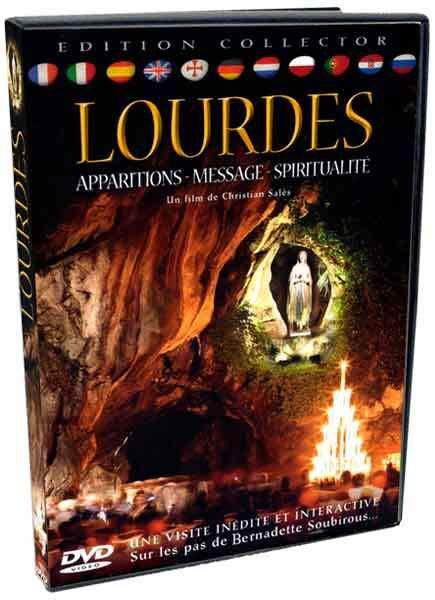 Imagen de Lourdes: Aparições, mensagens, espiritualidade - DVD