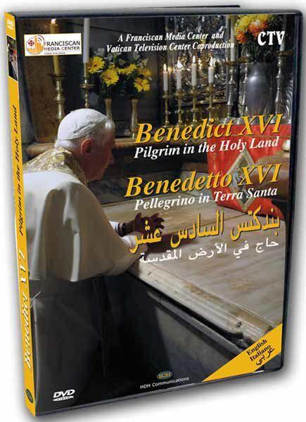 Picture of Benedict XVI Pilgrim in the Holy Land - DVD