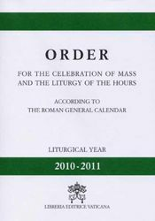 Immagine di Order for the Celebration of Mass and the Liturgy of the Hours 2010-2011