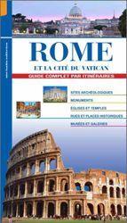 Picture of Rome et la Cité du Vatican, guide complet par itinéraires - LIVRE