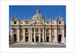 Picture of St Peter's Basilica - Vatican City - PRINT
