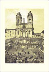 Picture of Trinità dei Monti, Rome, Felix Benoist - PRINT