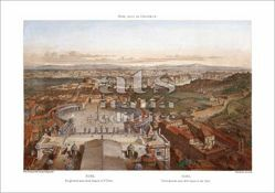 Picture of View of Rome from St Peter's Basilica, Felix Benoist - PRINT