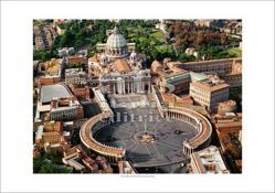 Picture of St Peter's Square, Vatican City - PRINT