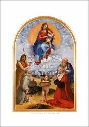 Immagine di Madonna di Foligno - Raffaello - Pinacoteca, Citta' del Vaticano - STAMPA