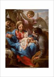 Picture of Rest on the flight to Egypt, Francesco Mancini - Vatican Museums - PRINT