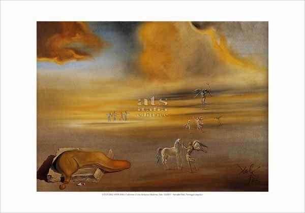 Immagine di Paesaggio angelico, Salvador Dali'- CARM, Citta' del Vaticano - STAMPA