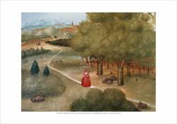 Picture of Trip to the Ecumenical Council, Fernando Botero - Citta' del Vaticano - PRINT