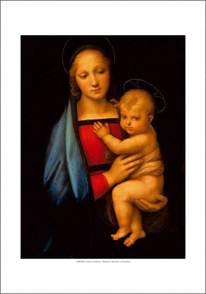 Picture of Madonna with Child - Raphael - PRINT