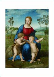 Picture of Madonna of the Goldfinch - Raphael - PRINT