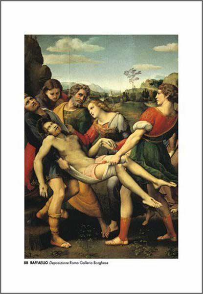 Immagine di Deposizione, Raffaello - Galleria Borghese, Roma - STAMPA