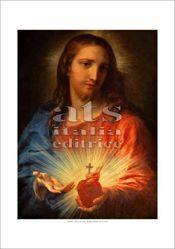 Imagen de Sagrado Corazón de Jesús, Pompeo Batoni - Chiesa del Gesu', Roma - ESTAMPA