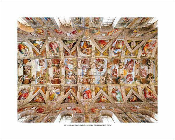 Picture of Ceiling Sistine Chapel, Michelangelo - POSTER