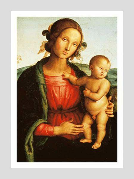 Picture of Madonna with Child - Pietro Perugino - POSTER