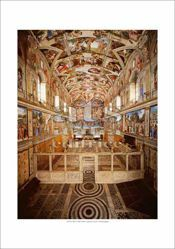 Picture of Sistine Chapel - PRINT