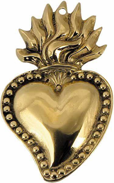 Picture of Sacred Heart of Jesus, medium - EX VOTO (AEX502)
