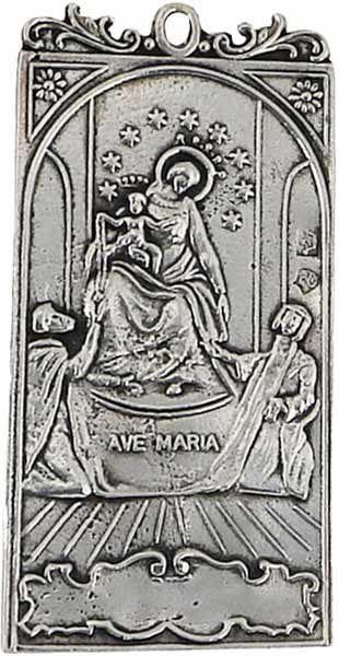 Imagen de Ave Maria - Medalla Cofradía, baño oro o plata (AMC396)
