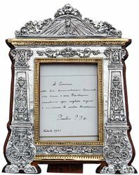 Picture of Altar Card with wooden frame, gold bath (ACG170GS)