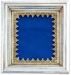 Picture of Frame, silver bath, gold finishing