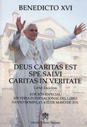 Immagine di Deus Caritas Est, Spe Salvi, Caritas in Veritate Cartas Encíclicas