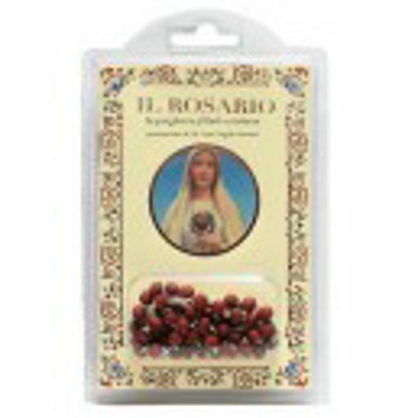 Immagine di Madonna - The filial Christian prayer - BOOK + ROSEWOOD ROSARY