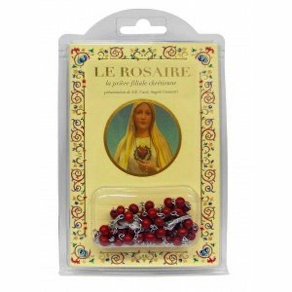 Imagen de Madonna - La prière filiale chrétienne LIVRE + CHAPELET EN BOIS
