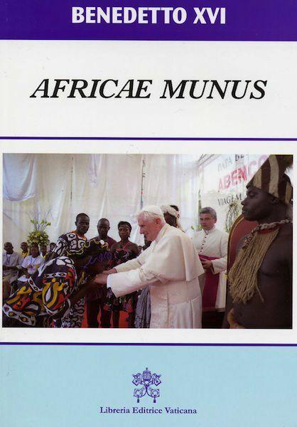 Immagine di Africae Munus Esortazione Apostolica Postsinodale sulla Chiesa in Africa al servizio della riconciliazione, della giustizia e della pace