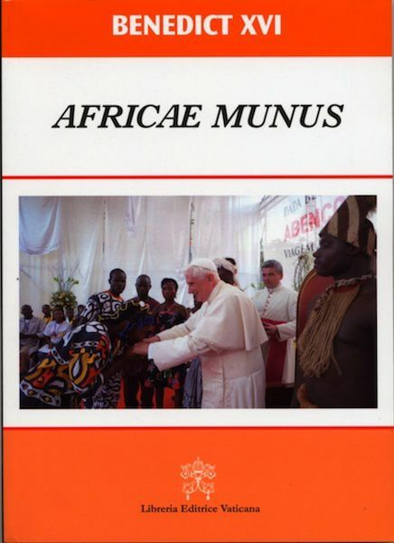 Imagen de Africae Munus Post-Synodal Apostolic Exhortation on the Church in Africa in service to reconciliation, justice and peace
