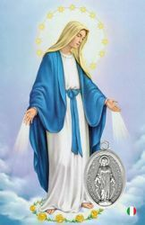 Imagen de Madonna - Immagine sacra con medaglia