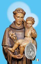 Imagen de Sant' Antonio - Immagine sacra con medaglia