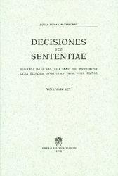 Imagen de Decisiones Seu Sententiae Anno 2003 Vol. XCV 95