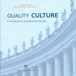 Immagine di Quality Culture. A Handbook for Ecclesiastical Faculties