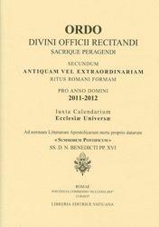 Imagen de Ordo Divini Officii Recitandi Sacrique Peragendi pro Anno Domini 2011-2012