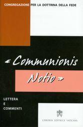 Immagine di Communionis Notio, lettera e commenti