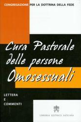 Imagen de Cura pastorale delle persone omosessuali - lettera e commenti