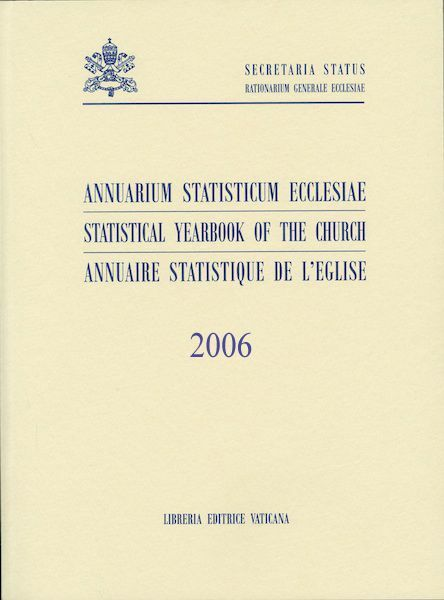Immagine di Annuarium Statisticum Ecclesiae 2006 - LIBRUM