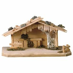 Picture of Austria Stable cm 12 (4,7 inch) for Ulrich Nativity Scene in Val Gardena wood