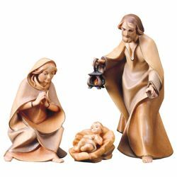 Picture of Set Holy Family - 4 pieces (Saviour Nativity cm19 - FAM)